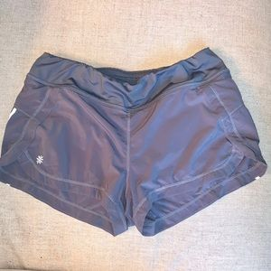 Athleta Gray Athletic Shorts S